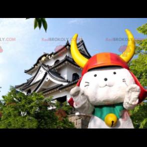 Samurai-Katzenmaskottchen - Hikonyan-Maskottchen -