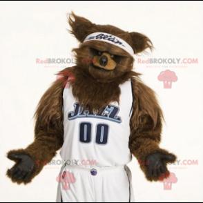 Medvěd hnědý maskot všechny chlupaté - Redbrokoly.com