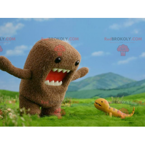 Domo Kun mascot famous Japanese television mascot -
