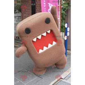 Maskot Domo Kun slavný japonský televizní maskot -
