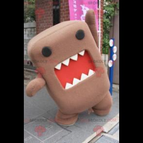 Domo Kun Maskottchen berühmtes japanisches Fernsehmaskottchen -