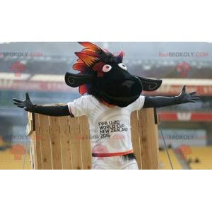 Mascotte di pecora nera FIFA 2015 - Redbrokoly.com