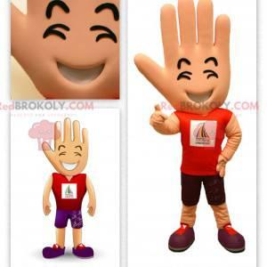 Stor gigantisk håndmaskotsupporter - Redbrokoly.com