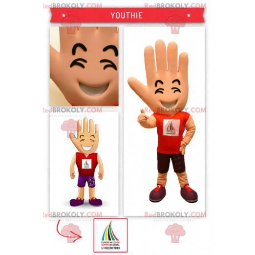 Velký obří ruční maskot zastánce - Redbrokoly.com