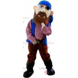 Divoce vypadající pirátský maskot - Redbrokoly.com