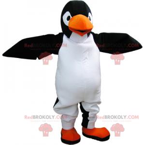 Velmi realistický obří černobílý maskot Pinguin - Redbrokoly.com