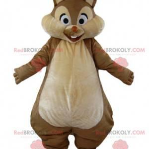 Tic or Tac maskotka słynna brązowo-beżowa wiewiórka -