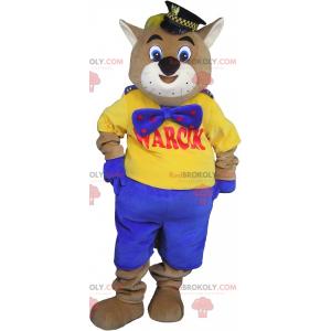 Giant cat mascot tomcat mascot - Redbrokoly.com