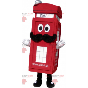Real London Red Telefonzelle Maskottchen - Redbrokoly.com
