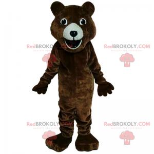 Zvířecí maskot - usmívající se medvěd - Redbrokoly.com
