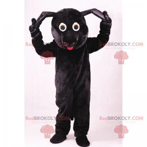 Maskot domácího mazlíčka - černý pes - Redbrokoly.com
