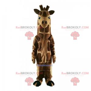 Mascotte animale della savana - Giraffa - Redbrokoly.com