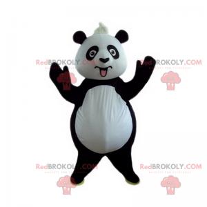 Maskot divokých zvířat - Panda - Redbrokoly.com