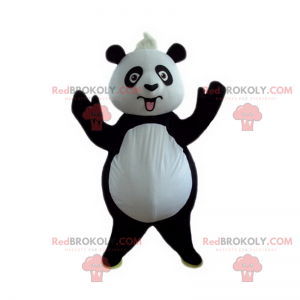 Wildtier-Maskottchen - Panda - Redbrokoly.com