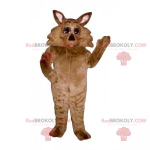 Vilde dyr maskot - ræv - Redbrokoly.com