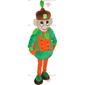 Dýňový muž maskot - Redbrokoly.com