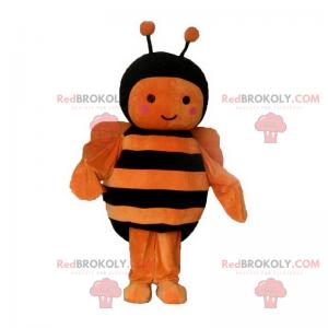 Orange bie maskot - Redbrokoly.com