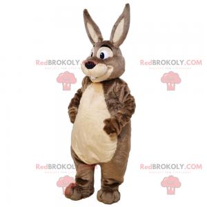 Roztomilý králičí maskot s měkkým břichem - Redbrokoly.com