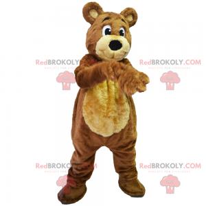 Süßes Teddybärmaskottchen - Redbrokoly.com