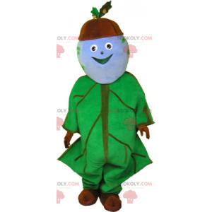 Chocolate cookie mascot - Redbrokoly.com