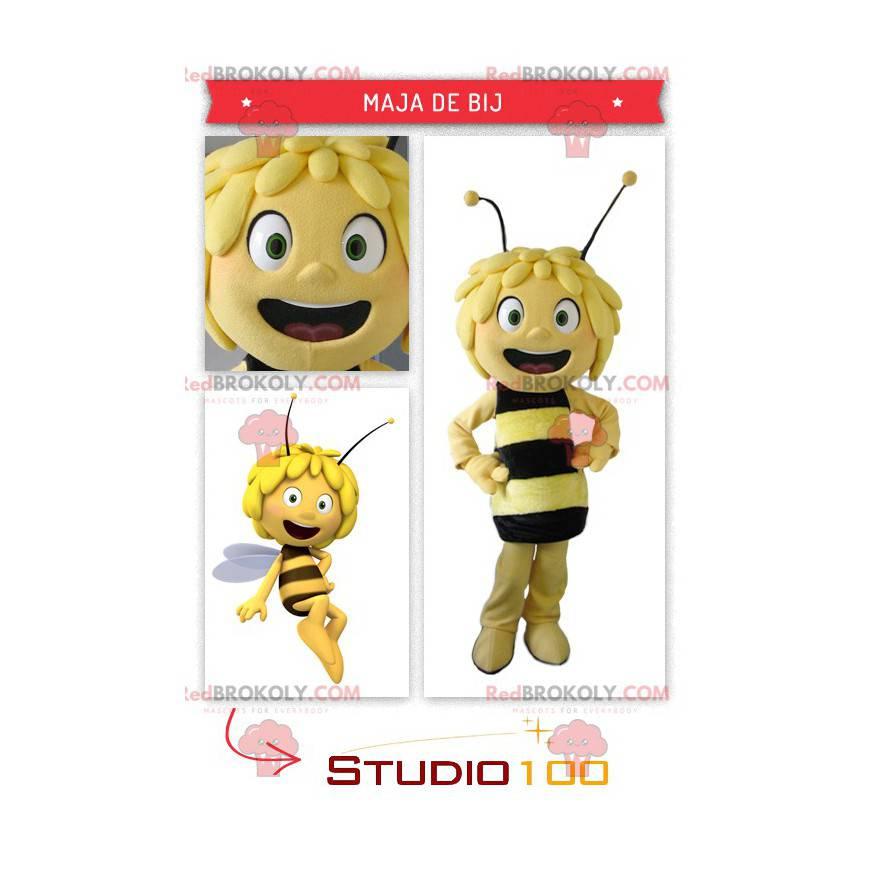 Beautiful Maya the Bee mascot - Redbrokoly.com