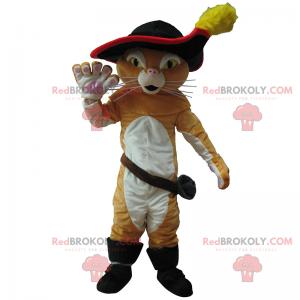 Boot cat mascot - Redbrokoly.com