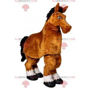 Horse mascot - Redbrokoly.com