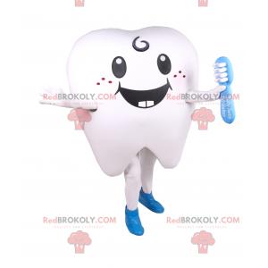 Usmívající se zub maskot - Redbrokoly.com