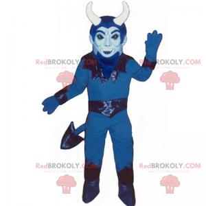 Maskotka niebieski diabeł - Redbrokoly.com