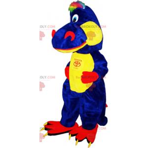 To-tone dinosaur maskot - Redbrokoly.com
