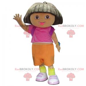 Dora the Explorer-mascotte - Redbrokoly.com