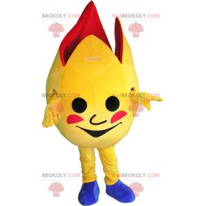 Flame mascot - Redbrokoly.com