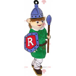 Middeleeuwse wachtmascotte - Redbrokoly.com