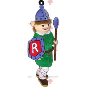Středověký stráž maskot - Redbrokoly.com