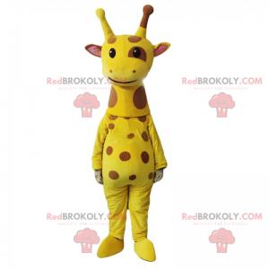 Plettet giraf maskot - Redbrokoly.com