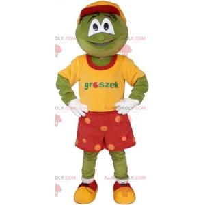 Froskemaskott med røde shorts - Redbrokoly.com