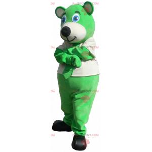 Kænguru maskot med politiets kepi - Redbrokoly.com