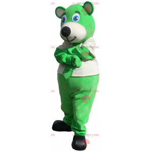 Kangoeroe-mascotte met politie-kepi - Redbrokoly.com