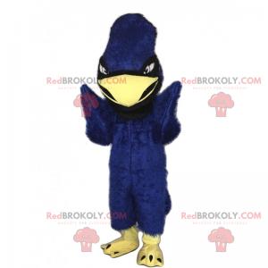 Jungle mascotte - blauwe papegaai - Redbrokoly.com