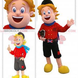 Holandský maskot oblečený v tradičním oděvu - Redbrokoly.com