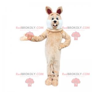Smiling rabbit mascot - Redbrokoly.com