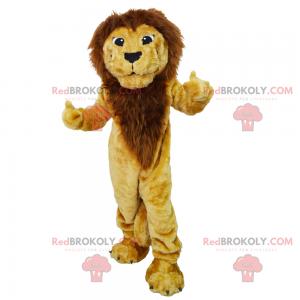 Wolf mascot with sports jersey - Redbrokoly.com