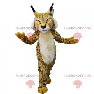 Lynx mascot with spots - Redbrokoly.com
