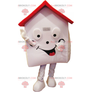 Domowa maskotka z czerwonym dachem - Redbrokoly.com