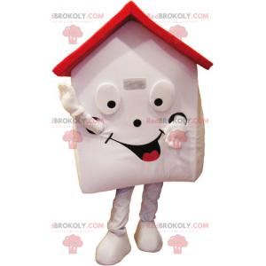 Maskot domu s červenou střechou - Redbrokoly.com