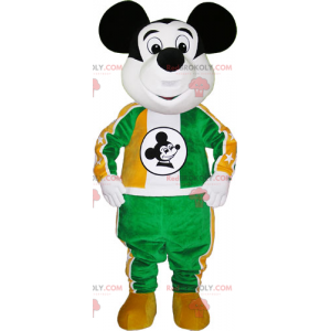 Mickey-mascotte met sportkleding - Redbrokoly.com