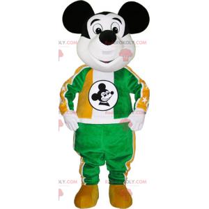 Mickey maskot med sportstøj - Redbrokoly.com
