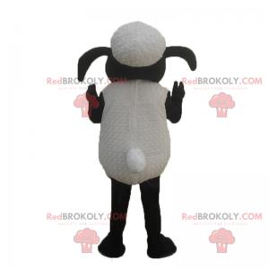 Mascota de oveja de dibujos animados - Redbrokoly.com