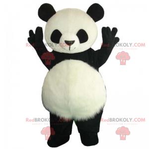 Panda maskot sladké břicho - Redbrokoly.com