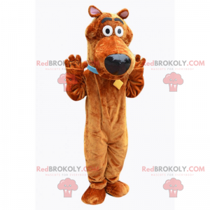 Mascote do personagem - Scooby Doo - Redbrokoly.com